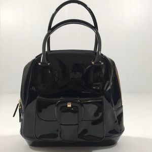 Vintage Anne Klein Patent Leather  Made In Italy